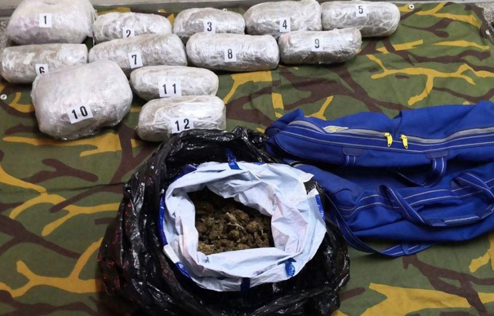 U Beogradu zaplenjeno 45 kilograma marihuane