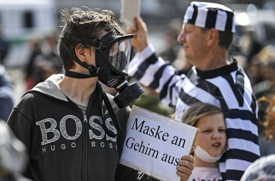 U Berlinu uhapšeno 60 demonstranata protiv mera