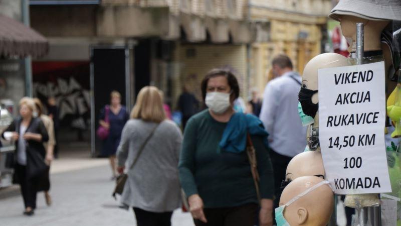 U BiH 188 novozaraženih, pet osoba preminulo