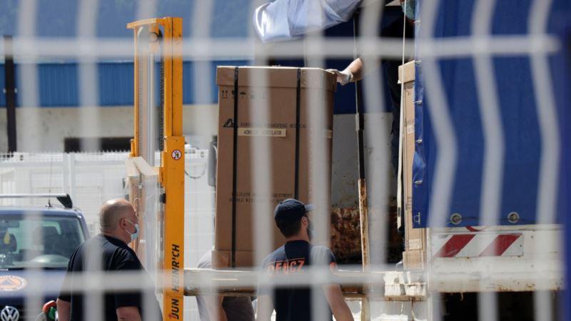 U BiH stigla medicinska oprema iz Ujedinjenih Arapskih Emirata