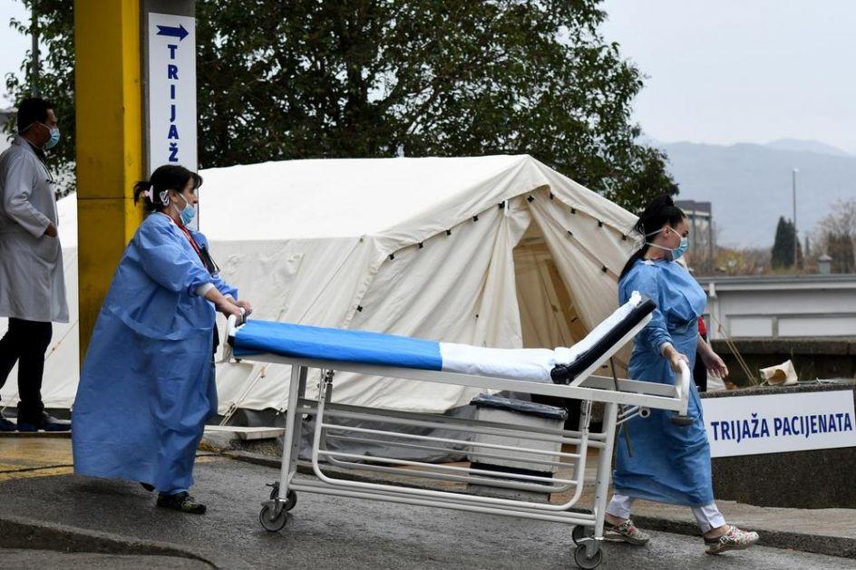 U CRNOJ GORI U IZOLACIJI 237 ZDRAVSTVENIH RADNIKA: Evo u kojoj bolnici je najveće žarište