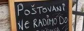 U Dalmaciji natpis kao iz Alana Forda: Da li je iko razumeo šta su hteli da kažu? FOTO