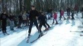 U Dragačevu odložili sanke: Selo ima sopstvenu ski stazu FOTO