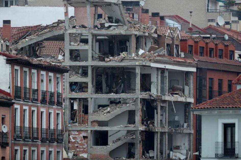 U EKSPLOZIJI U MADRIDU STRADALI SVEŠTENICI: Srušena zgrada bila u vlasništvu crkve! Poginulo troje, povređeno osmoro (FOTO, VIDEO)