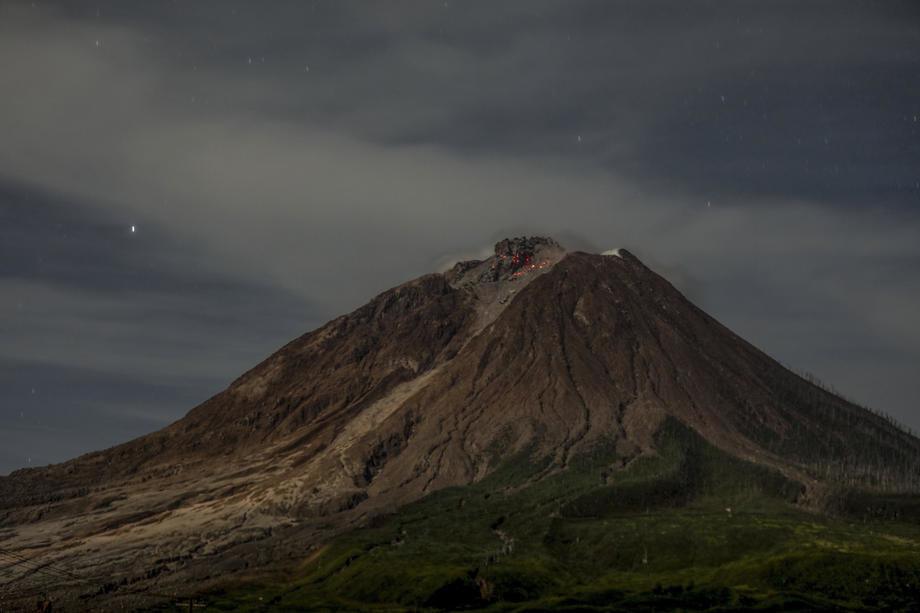 U Indoneziji požari nakon erupcije vulkana