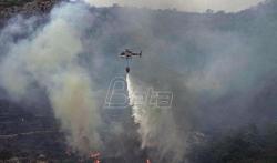 U Italiji vatrogasci imali 800 intervencija tokom vikenda, požari većinom na jugu (VIDEO)