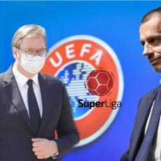 U JEKU SKANDALA OKO NAMEŠTANJA: UEFA presekla - čeka Vučićeve rezultate i pravi veliki rez u srpskom fudbalu