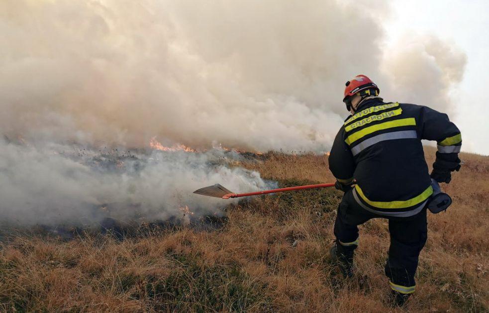 U Jablaničkom okrugu prijavljena četiri požara