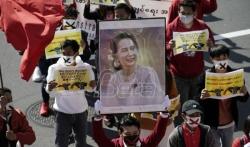 U Japanu protest zbog vojnog puča u Mjanmaru (VIDEO)