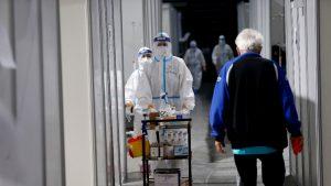 U KC Kragujevca smešteno oko 250 pacijenata, od kojih su 54 na intenzivnoj nezi