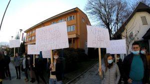 U Kosjeriću održan protest zbog novog kamenoloma