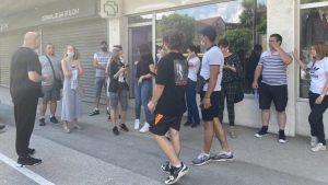 U Kragujevcu protest podrške uhapšenom vlasniku azila za pse