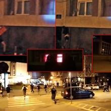 U Kragujevcu razbijeni prozori MUP-a, uzvraceno suzavcem