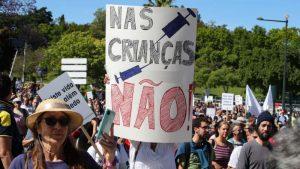 U Lisabonu skup protiv mera u borbi protiv korona virusa
