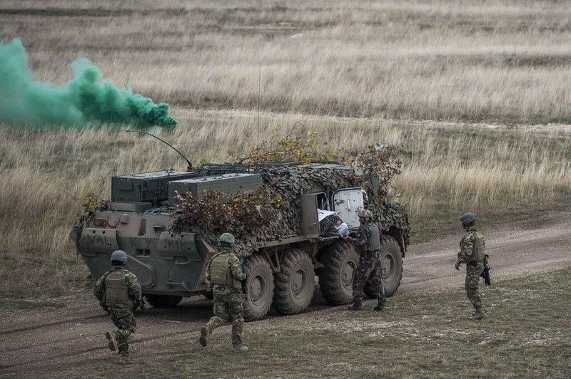 U Mađarskoj počela međunarodna vojna vežba