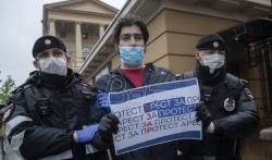 U Moskvi privedeno oko 30 osoba zbog samostalnih protesta
