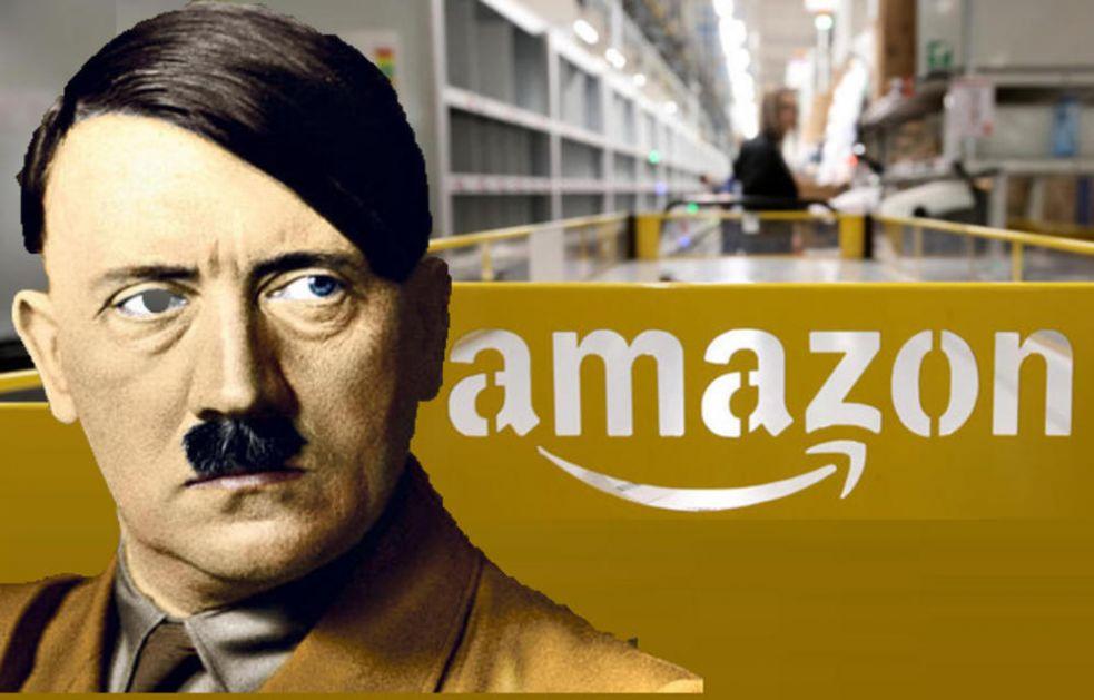 U NOVOM LOGOU AMAZONA VIDELI HITLERA: Internet gigant ga hitno promenio posle prozivki korisnika! (FOTO)