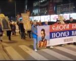 U Nišu održan drugi Moleban i Krsni hod podrške SPC u Crnoj Gori (VIDEO)