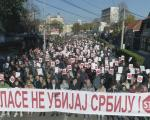 U Nišu održan miran protest Stop krvavom nasilju (FOTO)