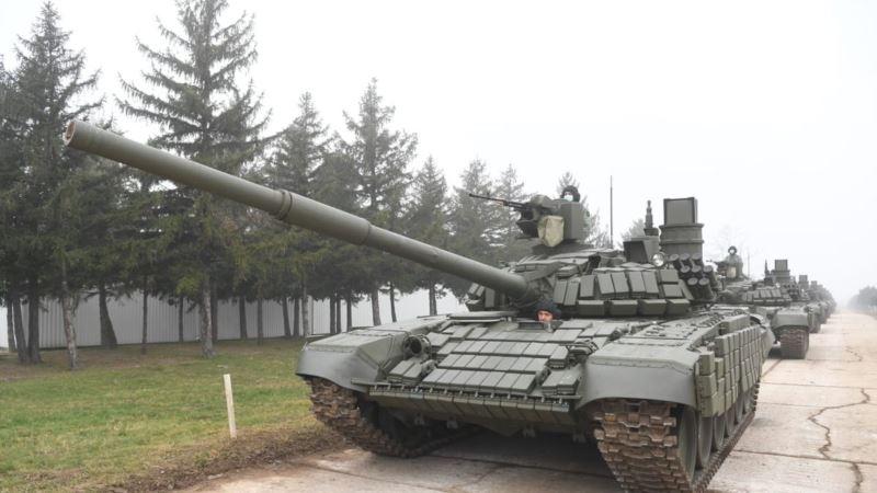 U Nišu prikazani tenkovi koje je Srbija dobila od Rusije