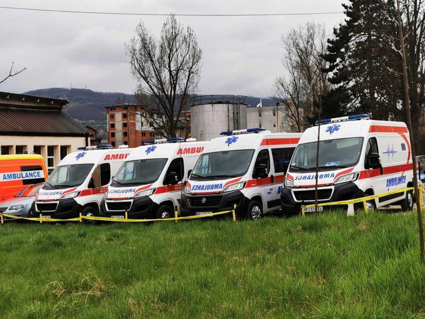 U Novom Pazaru bez preminulih, četiri pacijenata na respiratorima