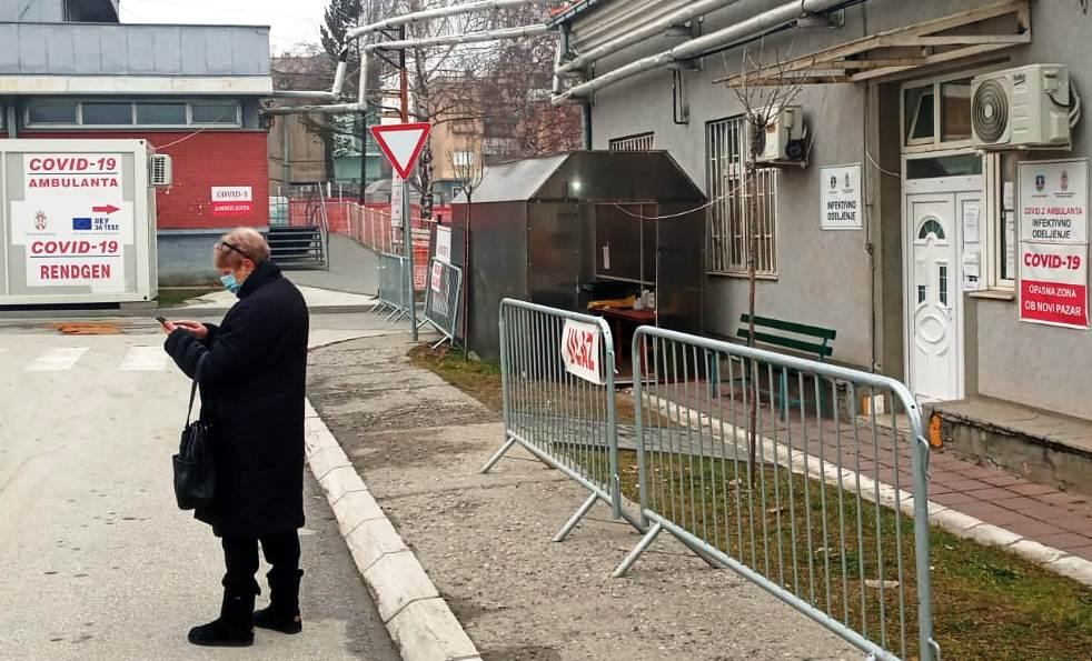 U Novom Pazaru na respiratorima sedmero, preminula jedna osoba, povećan broj novozaraženih