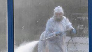 U Novom Sadu dezinfekcija raskrsnica i trotoara
