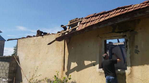 U Orahovcu zapaljena srpska kuća