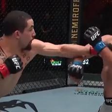 U POSLEDNJEM UFC SPEKTAKLU BEZ PUBLIKE: Vitaker PREBIO Amerikanca!