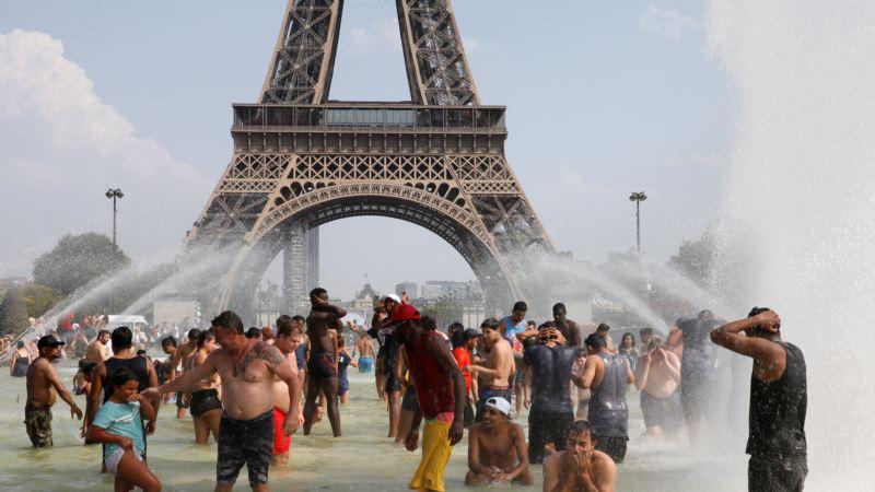 U Parizu 42 stepena, vrućina u Belgiji, Holandiji i Nemačkoj