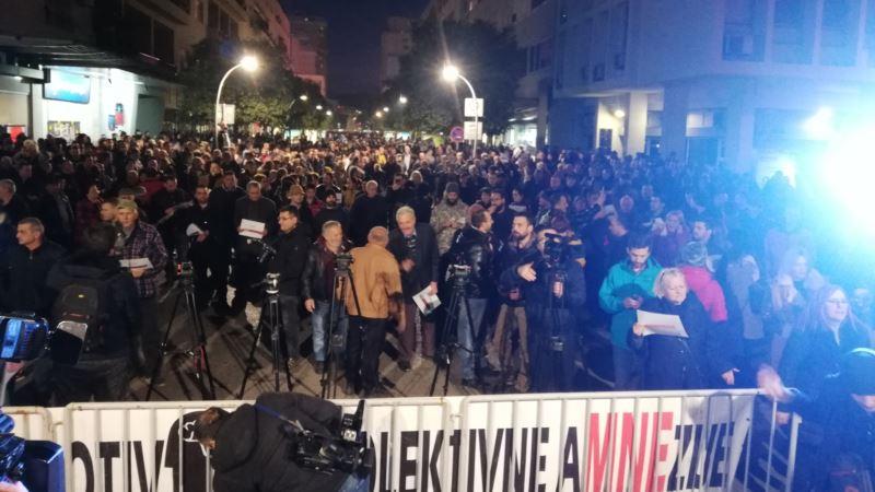 U Podgorici održan protest građana 97.000 odupri se