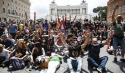 U Rimu protest protiv italijanske vlade