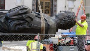 U SAD oborena još jedna statua Kristofera Kolumba