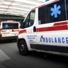 U SAOBRAĆAJNOJ NESREĆI POVREĐEN DEČAK (13): Hitno je  prebačen u Urgentni centar u Beogradu