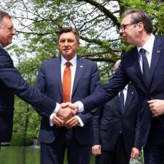 U SLOVENIJI SAMO DODIK BIO NA STRANI SRBIJE Predsednik Vučić otkrio detalje sastanaka Brdo-Brioni