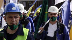 U Sarajevu mirni protesti sindikata, u RS bez okupljanja radnika