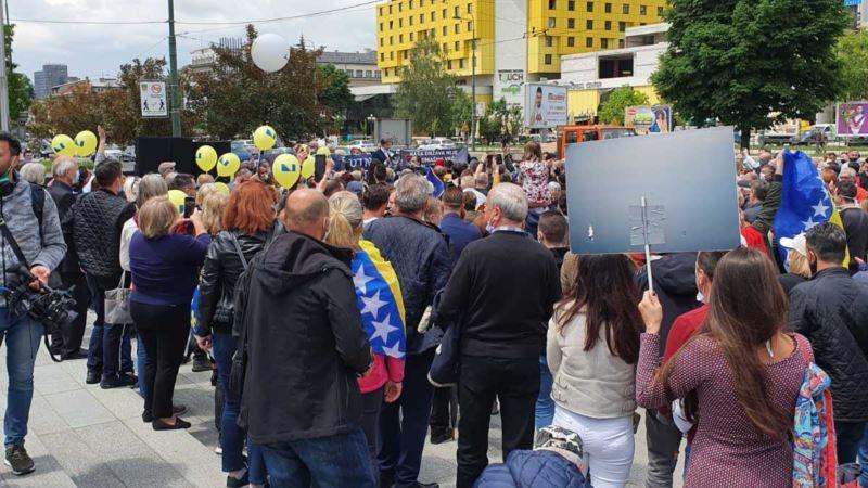 U Sarajevu protestna šetnja Dosta je bilo šutnje