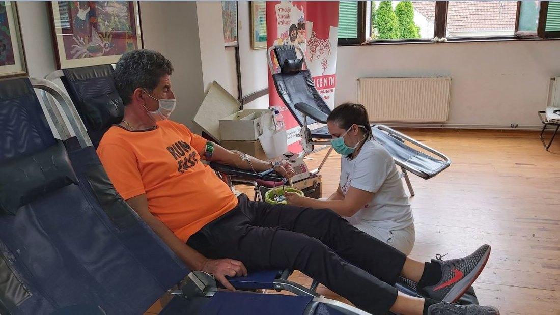 U Somboru danas akcija dobrovoljnog davanja krvi