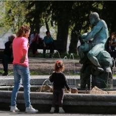 U Srbiji SUNČANO: Temperature u okviru PROSEKA, od vikenda ZAHLAĐENJE