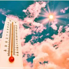 U Srbiji danas VRELO! RHMZ IZDAO POSEBNO UPOZORENJE: Očekuju nas visoke temperature - crveni meteoalarm na snazi