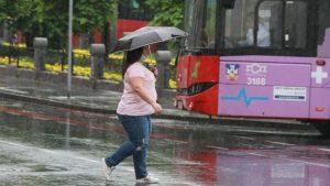 U Srbiji danas oblačno i kišovito vreme