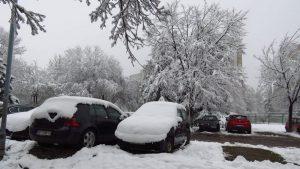U Srbiji danas oblačno vreme, mestimično sa snegom