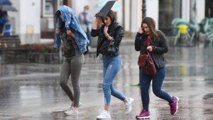 U Srbiji danas oblačno vreme, ponegde slaba kiša, na planinama slab sneg