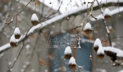 U Srbiji sutra oblačno vreme, mestimično sa snegom
