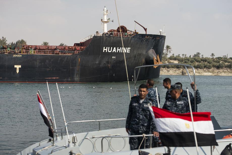 U Sueckom kanalu počeli radovi na proširenju kanala
