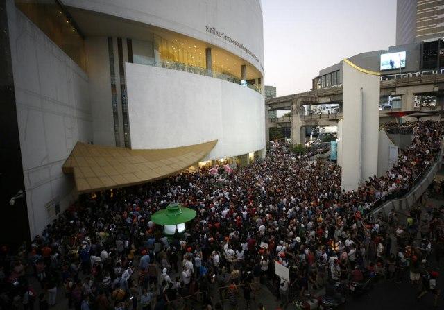 U Tajlandu protest na poziv opozicije