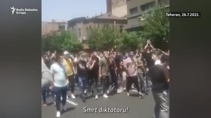 U Teheranu demonstranti skandiraju Smrt diktatoru