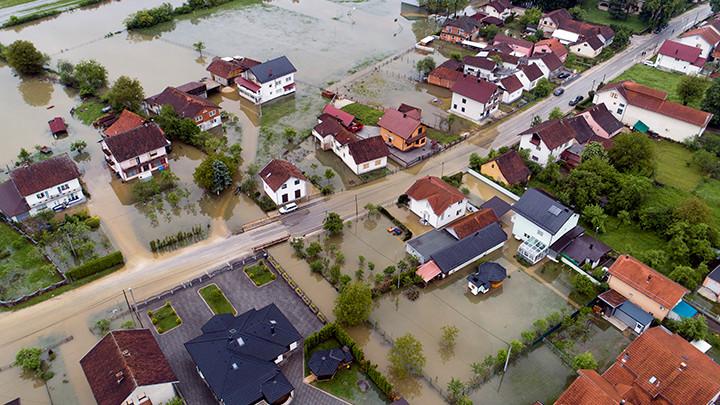 U Tuzli stanje elementarne nepogode od poplava