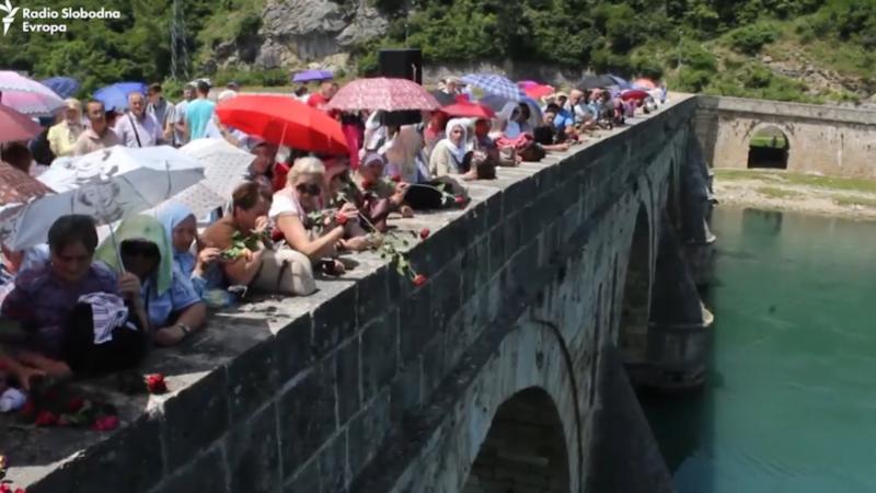 U Višegradu obeleženo 29 godina od stradanja bošnjačkih civila