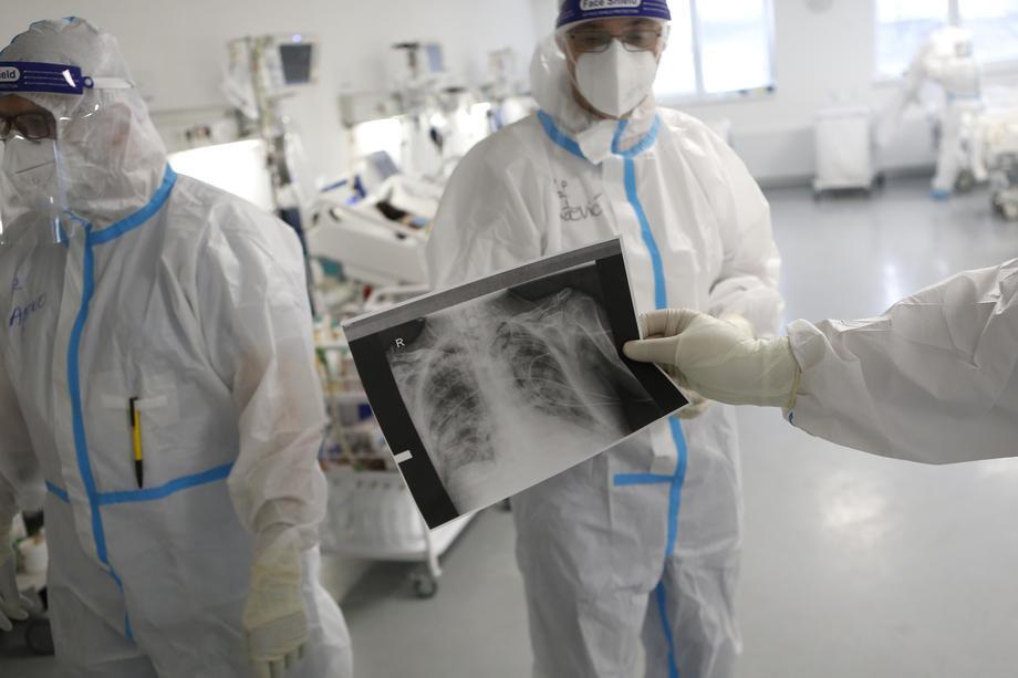 U Vranju 111 pacijenata u bolnici, 53 na kiseoniku